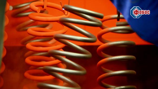 порошковая окраска пружин